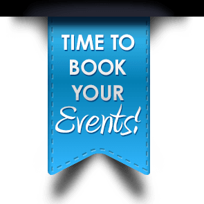 Time to Book Your Events Ribbon