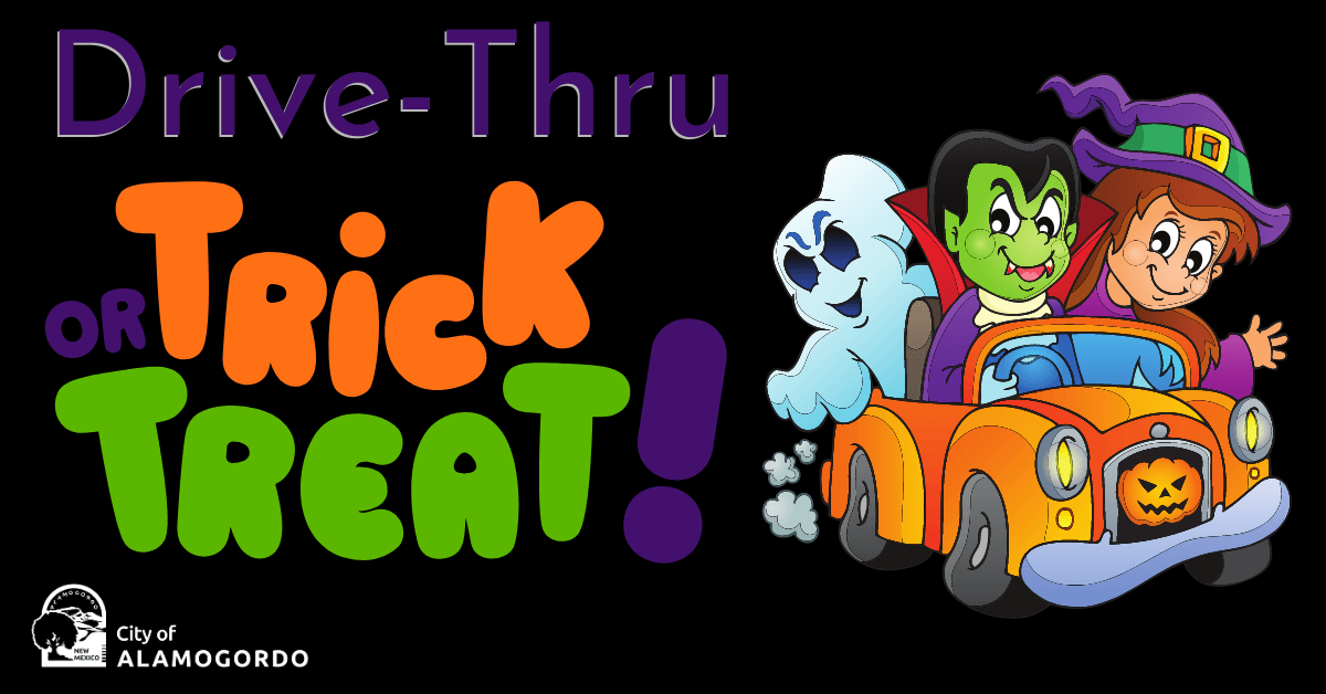 Drive-Thru Trick or Treat FB Event Cover