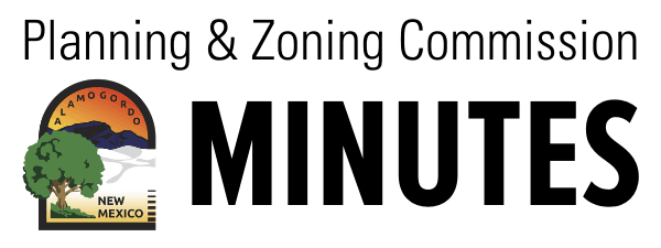 Planning and Zoning Commission Minutes Button