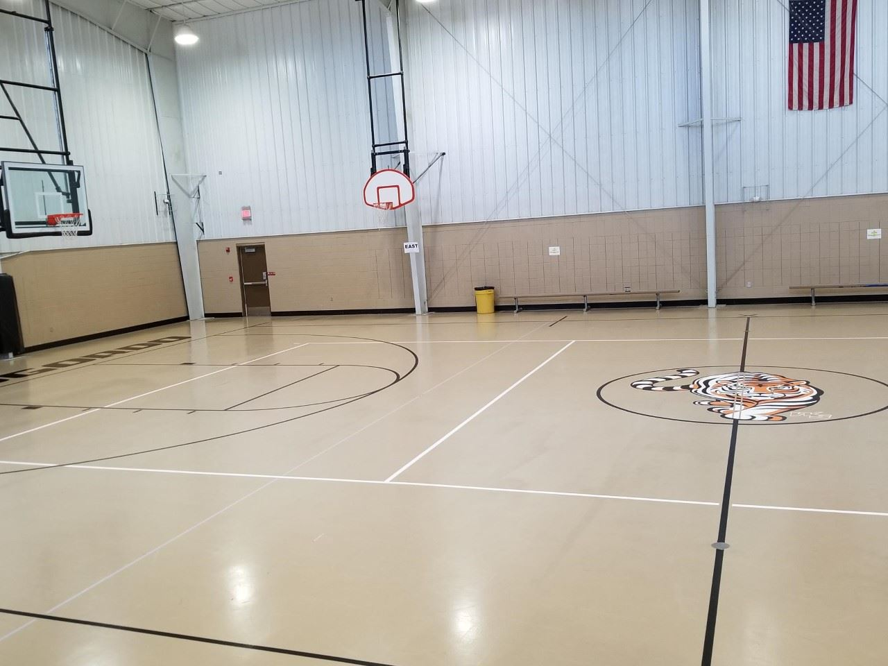 Rec Center Basketball court photo